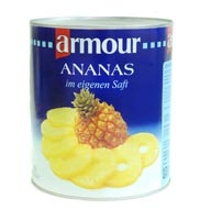 ANANAS 50 / 60 TRANCHES AU SIROP