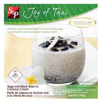 100966 - SAGO & BLACK BEANS IN COCONUT CREAM